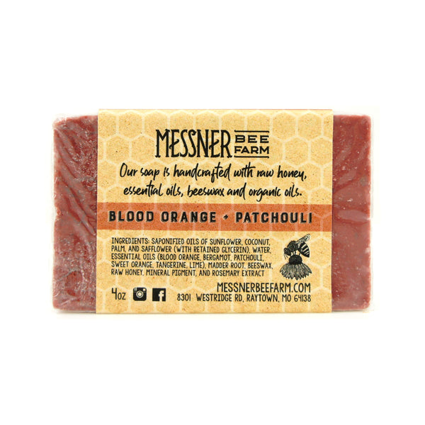 Messner Bee Farm Blood Orange Patchouli Soap