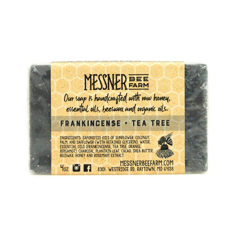 Messner Bee Farm Frankincense Tea Tree Soap