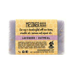 Messner Bee Farm Lavender Oatmeal Soap