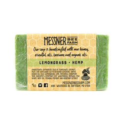 Messner Bee Farm Lemongrass Hemp Soap