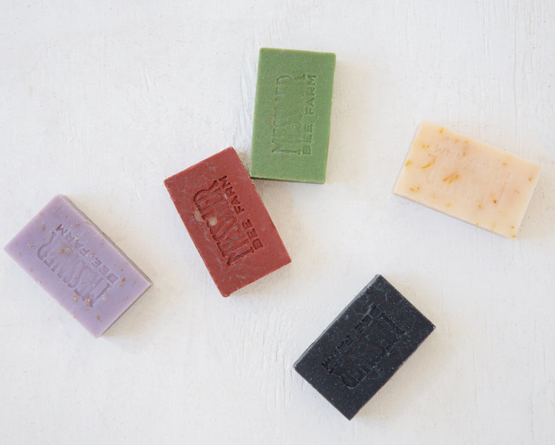 Messner Bee Farm Peppermint Sage Soap