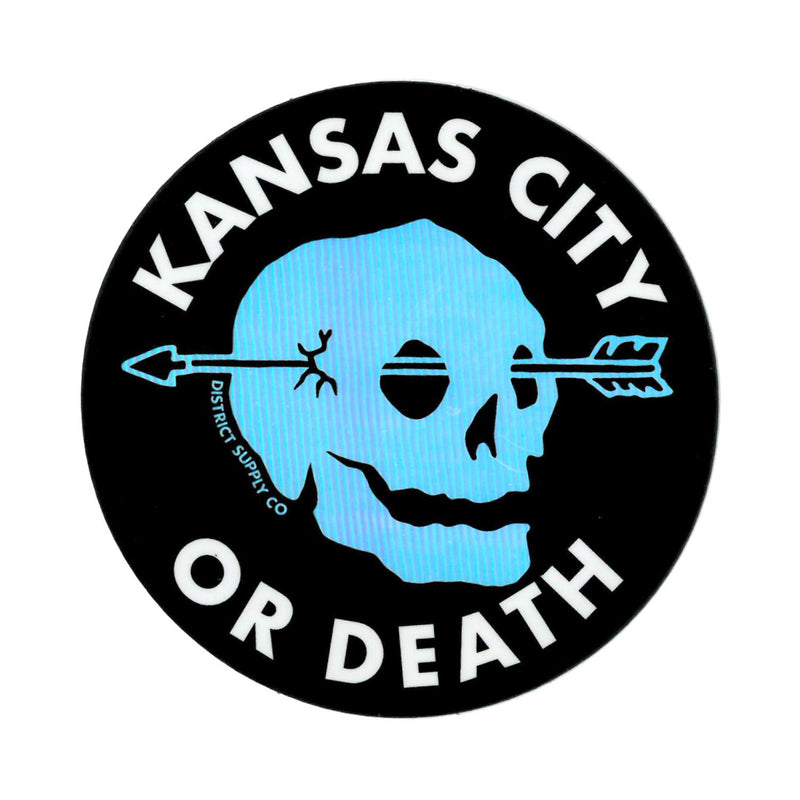 Normal Human Kansas City or Death Sticker