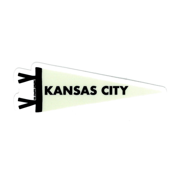Normal Human Kansas City Pennant Sticker