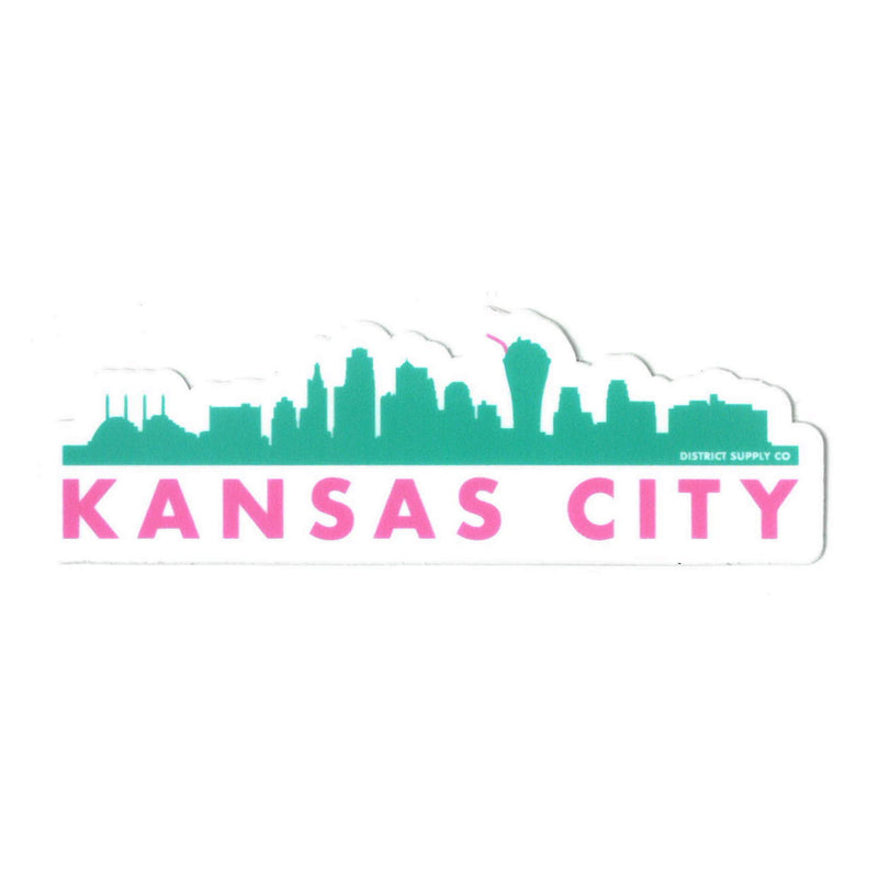 Normal Human Kansas City Skyscrapers Sticker