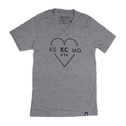 Ocean & Sea KS KC MO V-Neck Tee