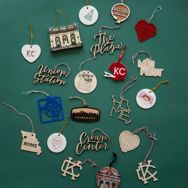 Sandlot Goods KC Helmet Ornament