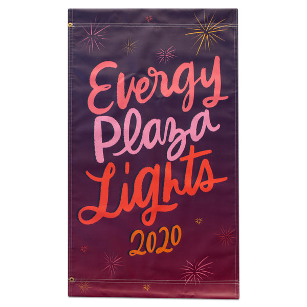 2020 Plaza Holiday Banner - Plaza Lights
