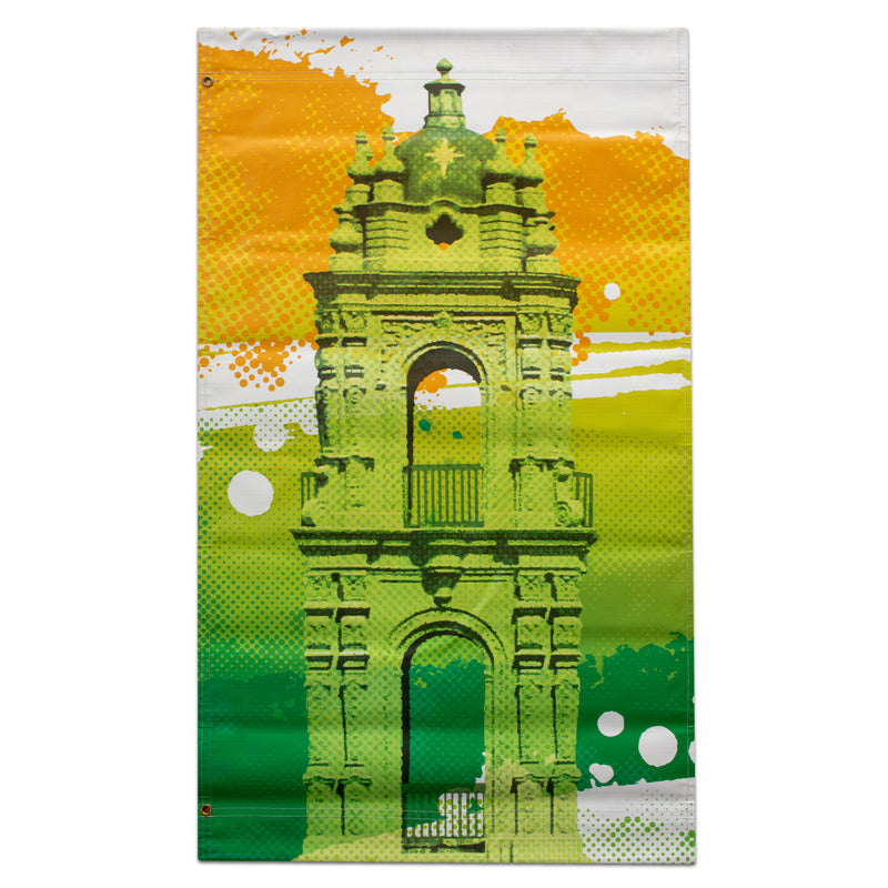 2019 Plaza Summer Banner - Plaza Tower - Green