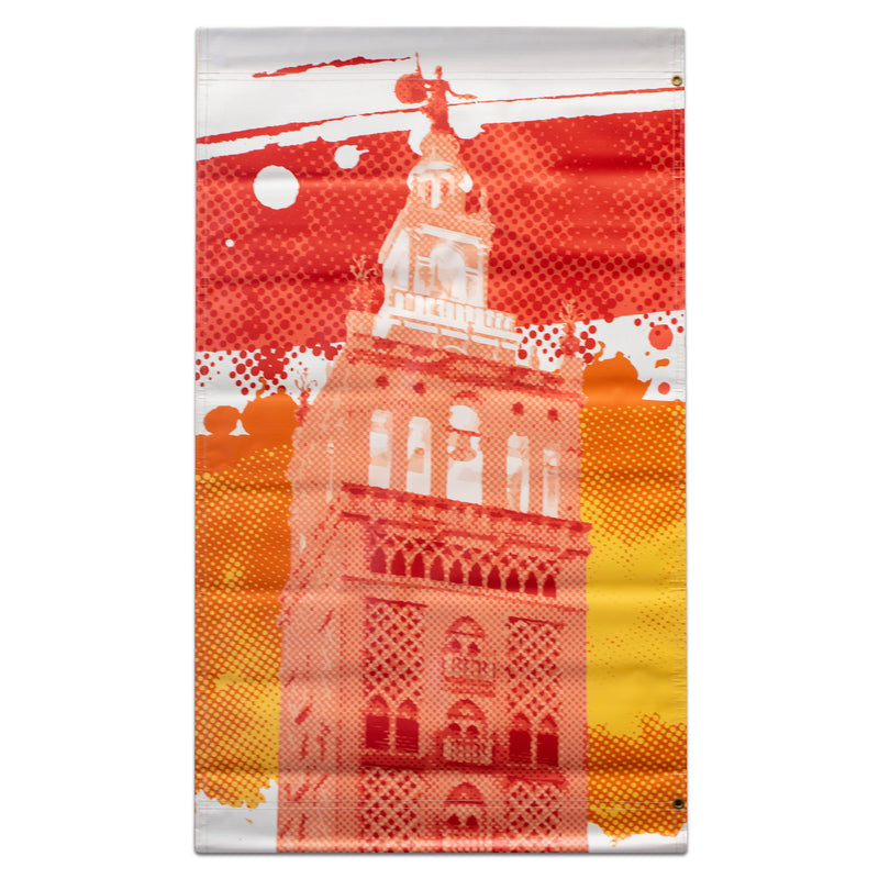2019 Plaza Summer Banner - Plaza Tower - Red