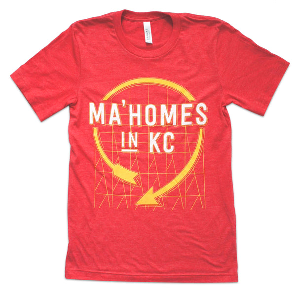 Press Monkey Studio Ma'Homes in KC Western Auto Tee