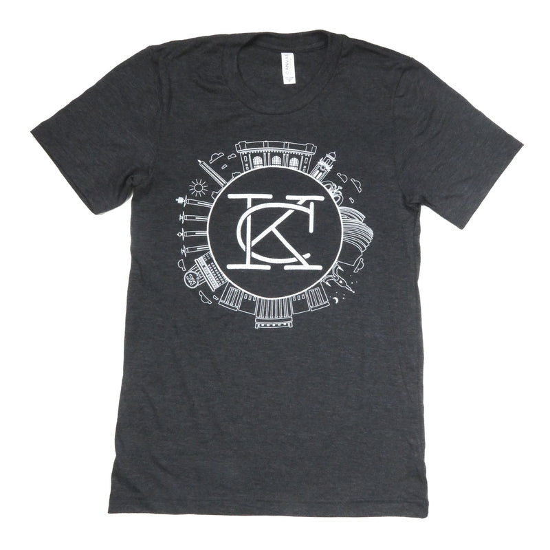 Press Monkey Studio KC Landmarks Tee