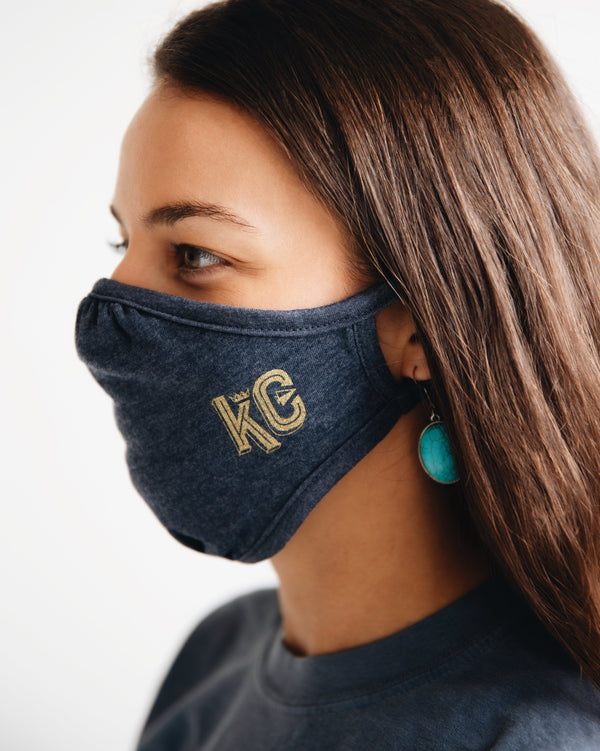 Press Monkey Studio KC Face Mask