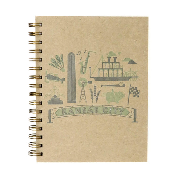 Ruff House Art Kansas City Letterpress Notebook