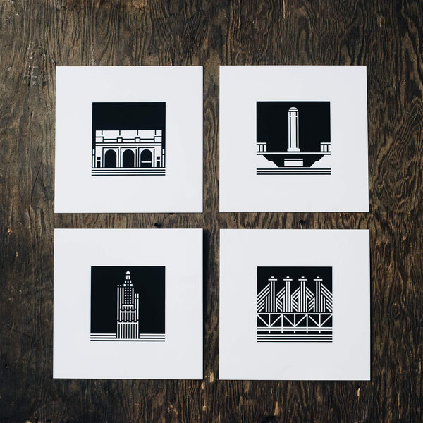Ryan Hubbard Power and Light Building Print