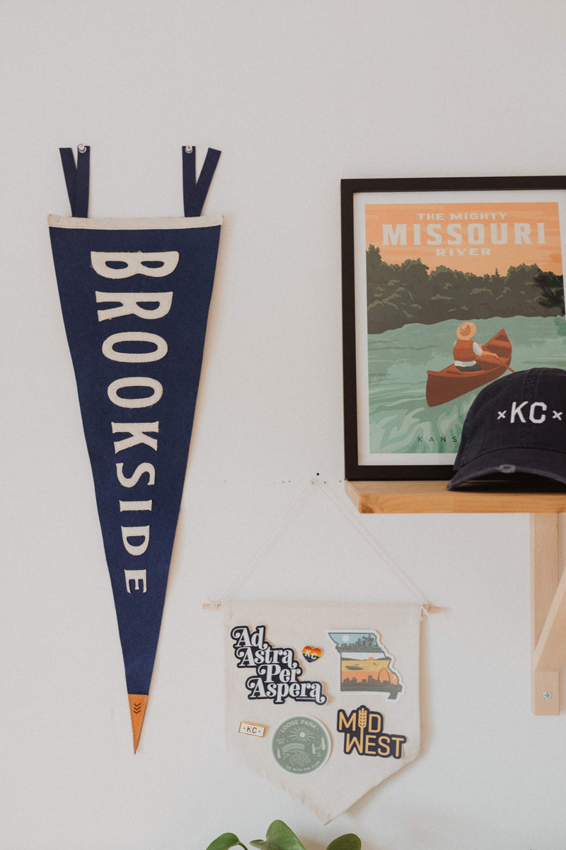 Sandlot Goods Brookside Pennant