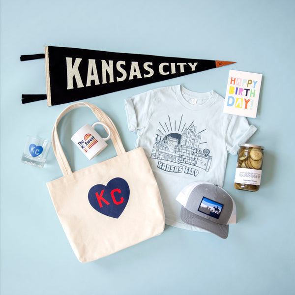 Sandlot Goods x Charlie Hustle KC Heart Tote