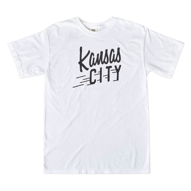 Sandlot Goods Kansas City Flyer Tee - White
