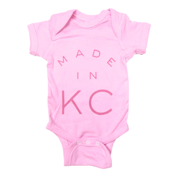 Sandlot Goods Made in KC Onesie - Pink