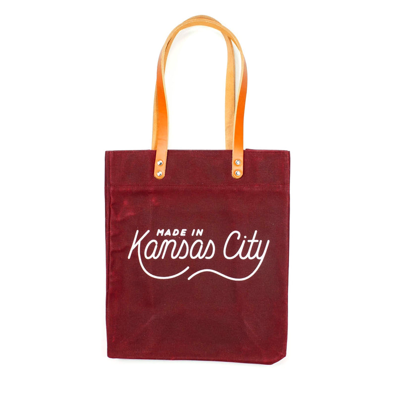Made in Kansas City x Sandlot Goods Exclusive Tote - Burgundy