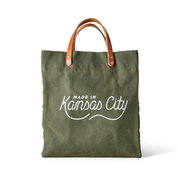 Made in Kansas City x Sandlot Exclusive Tote - Green