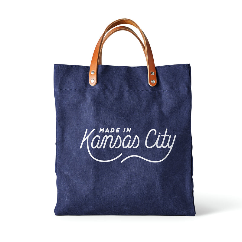 Made in Kansas City x Sandlot Goods Exclusive Tote - Navy