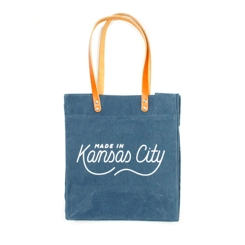 Made in Kansas City x Sandlot Goods Exclusive Tote - Slate