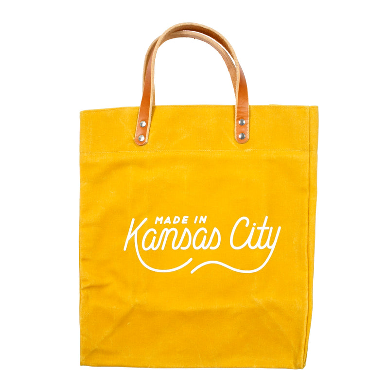Made in Kansas City x Sandlot Goods Exclusive Tote - Rover Yellow