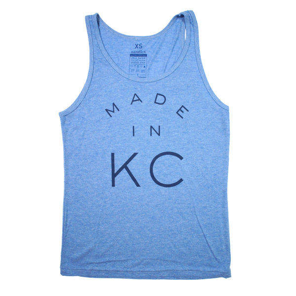 Sandlot Goods Made in KC Tank - Light Blue