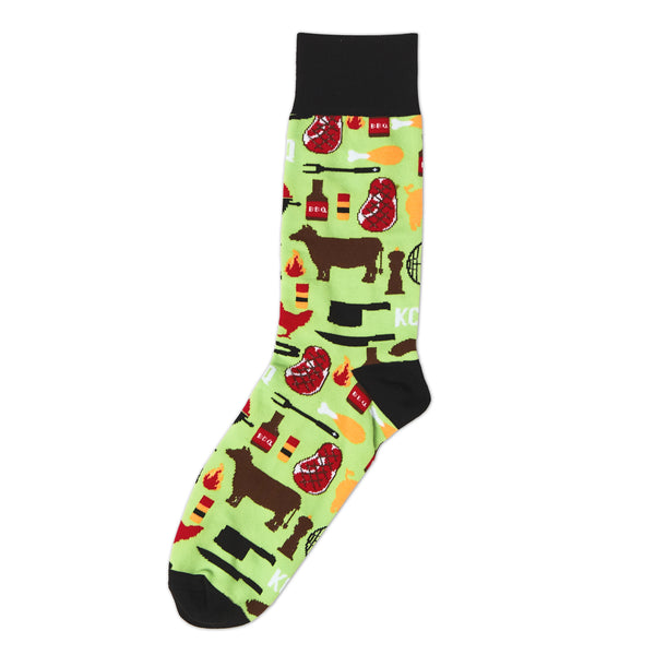 School of Sock KC BBQ Socks