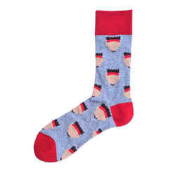 School of Sock Pat Silhouette Socks