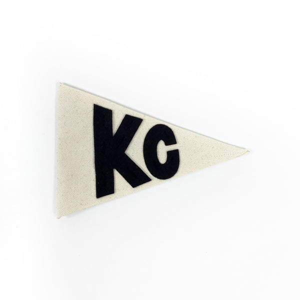 Sharp Tooth Studio Small KC Pennant