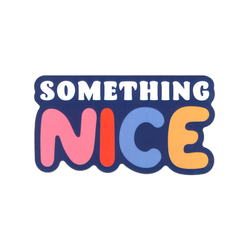 Send Something Nice Outline Sticker