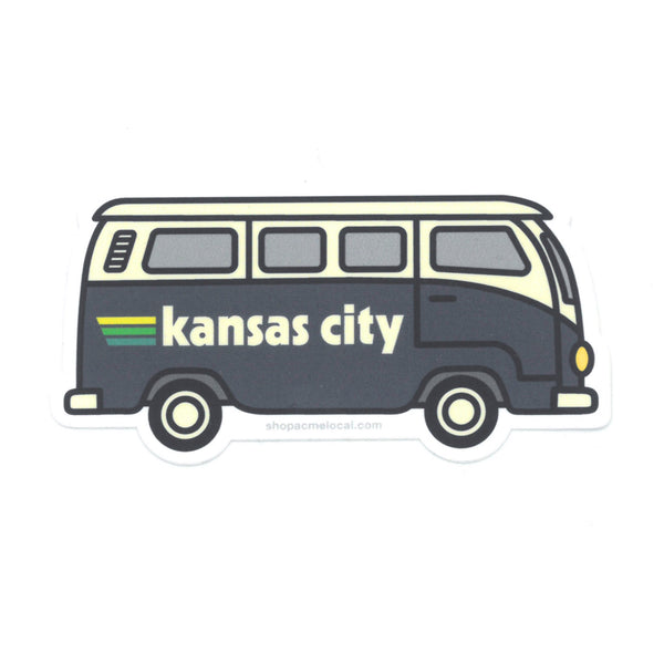 Super Cub Kansas City Bus Sticker