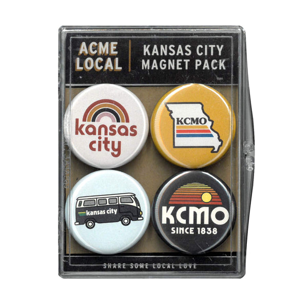Super Cub Kansas City Magnet Set