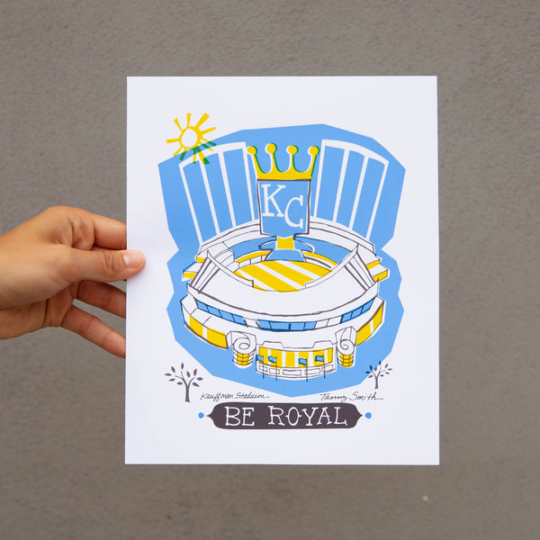 Tammy Smith Be Royal Print