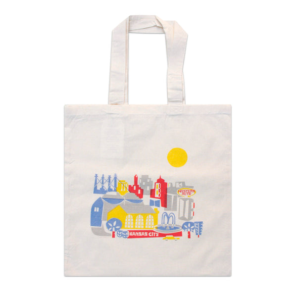 Tammy Smith Mod Skyline Tote Bag