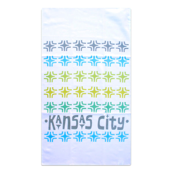 Tammy Smith Kansas City Mod Blocks Tea Towel