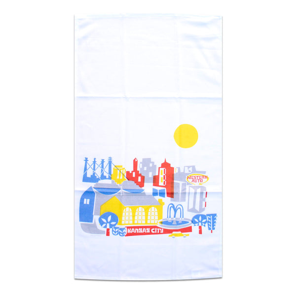 Tammy Smith Mod Skyline Tea Towel