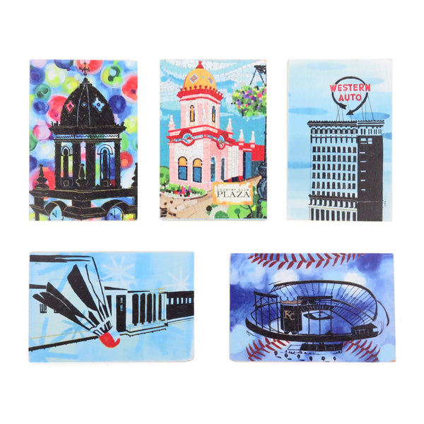 Tina Blanck Kansas City Wooden Postcards