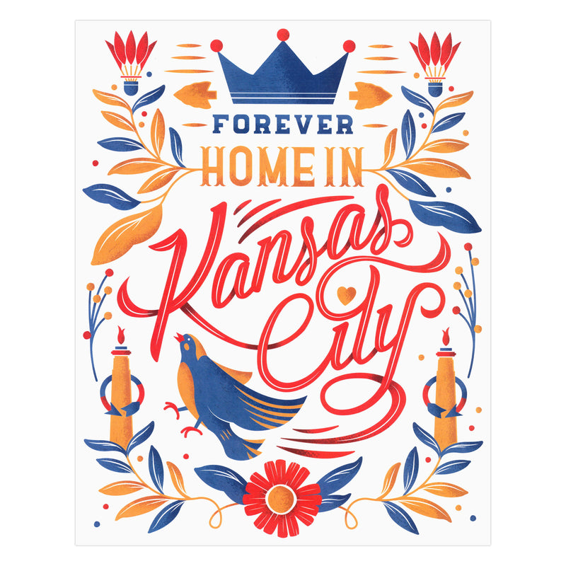 Trey Conrad Forever Home in Kansas City Print