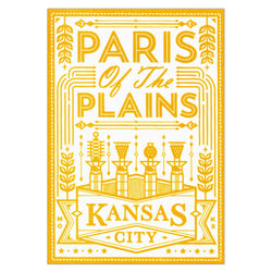Trey Conrad Paris of the Plains Mini Print