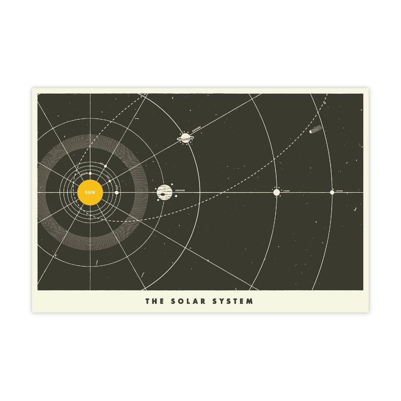 Tucker & Scout Solar System Print