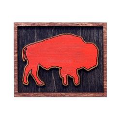 Wee Woodworks Buffalo Magnet