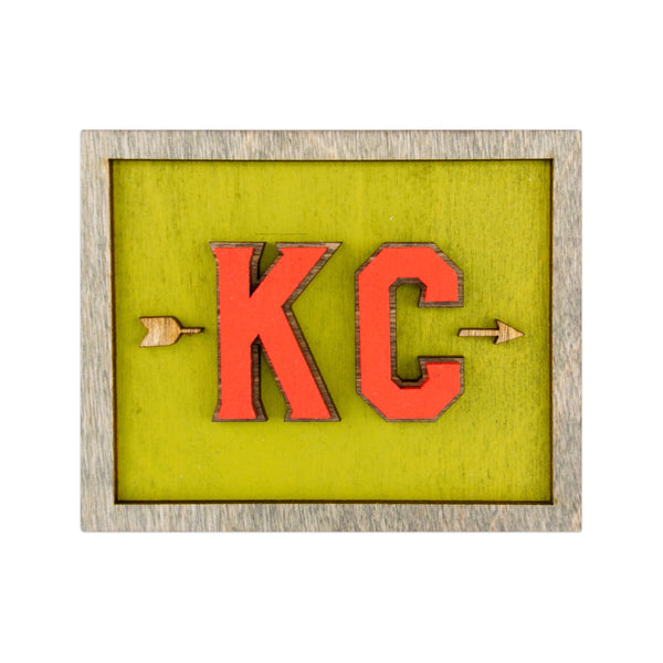 Wee Woodworks KC Arrow Desk Ornament