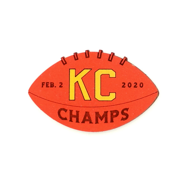 Wee Woodworks KC Champs Magnet - Red