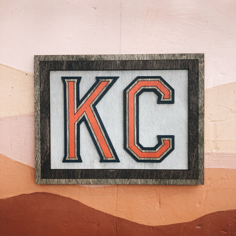 Wee Woodworks KC Wall Hanging