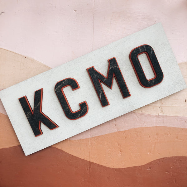 Wee Woodworks KCMO Wall Hanging