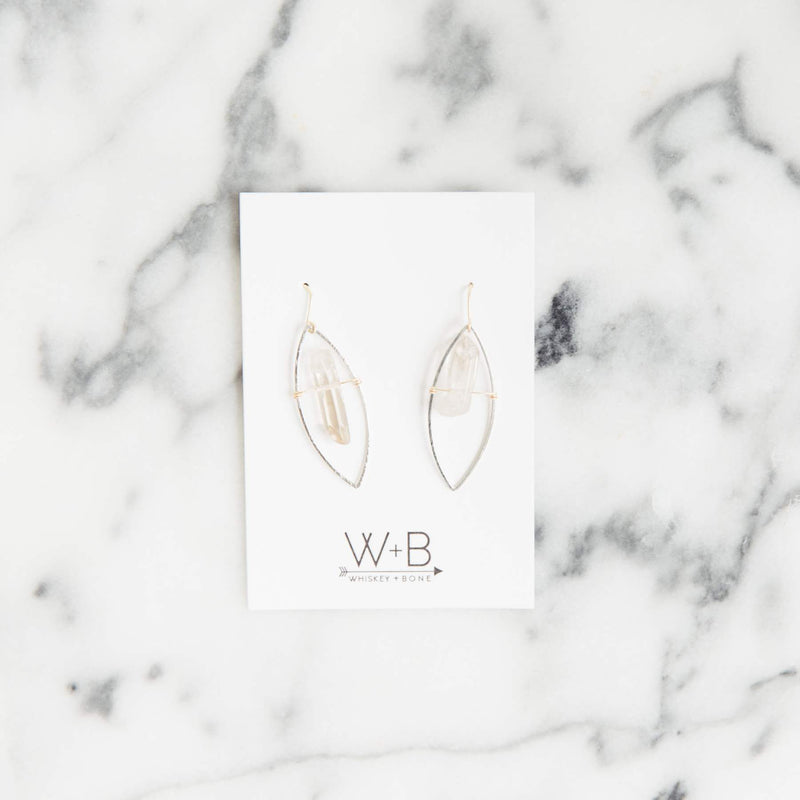 Whiskey + Bone Dolly Earrings