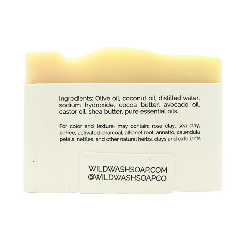 Wild Wash Lemongrass & Sea Clay Bar Soap