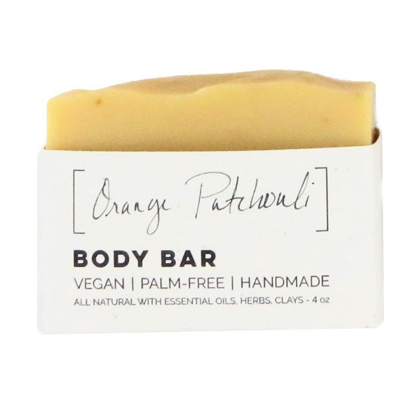 Wild Wash Orange Patchouli Bar Soap